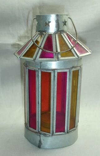 Galvanised Lantern
