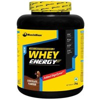 MuscleBlaze Whey Energy with Digezyme OP, 4.4 lb(2kg) Chocolate