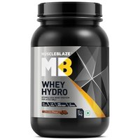 MuscleBlaze Whey Hydro, 2.2 lb(1kg) Chocolate