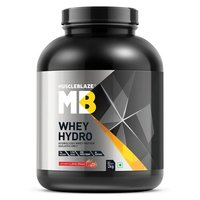 MuscleBlaze Whey Hydro, 4.4 lb(2kg) Strawberry Shake