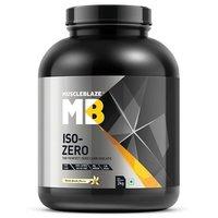 MuscleBlaze Iso-Zero, 4.4 lb(2kg) Zero Carb Dutch Vanilla