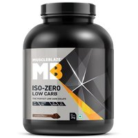 MuscleBlaze Iso-Zero, 4.4 lb(2kg) Low Carb Chocolate