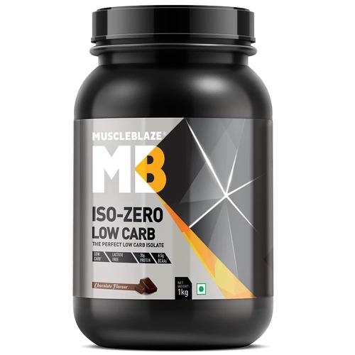 MuscleBlaze Iso-Zero, 2.2 lb(1kg) Low Carb Chocolate