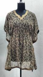 Ladies Chiffon Short Kaftan