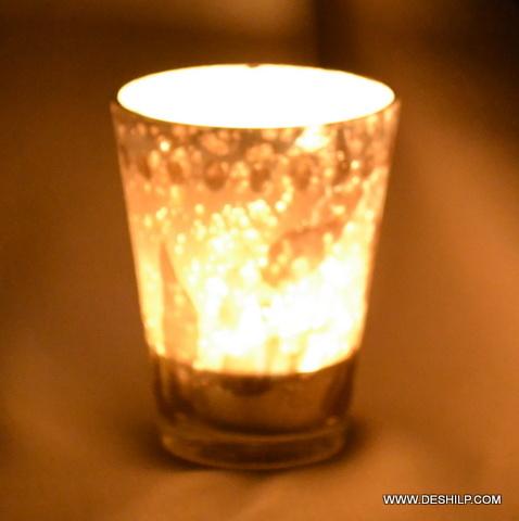 Sml Silver T Light Votive