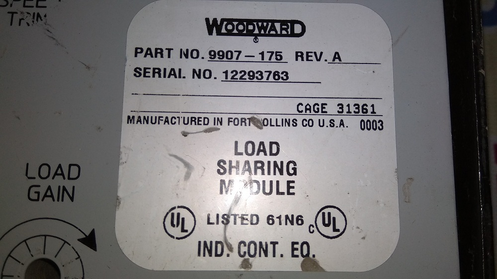 WOODWARD CPU 9907-175 A