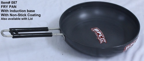 Aluminium Fry Pan Non Stick Coated  with Induction Base