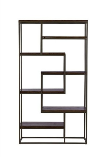 Industrial Rod Bookcase