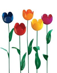 Miles Kimball Artificial Tulips Set of 5