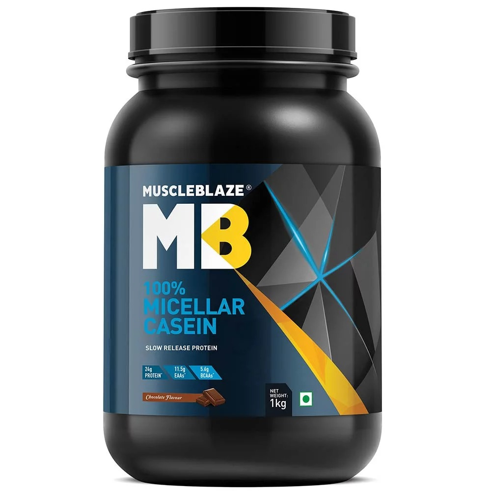 MuscleBlaze Whey Premium, 4.4 lb(2kg) Rich Milk Chocolate