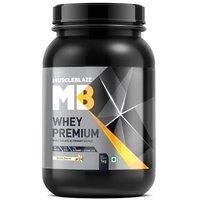MuscleBlaze Whey Premium, 2.2 lb(1kg) Vanilla