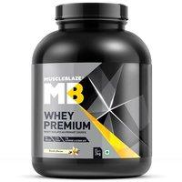 MuscleBlaze Whey Premium, 4.4 lb(2kg) Vanilla