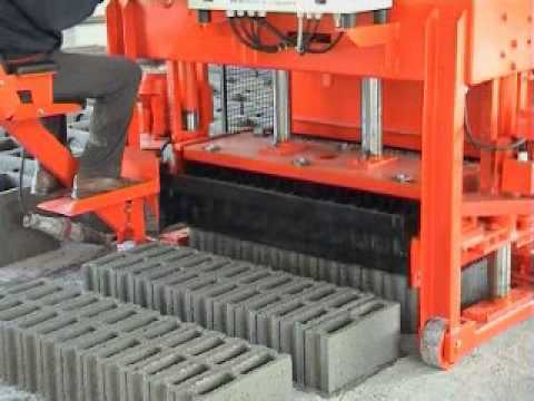 Industrial Cement Block Machine