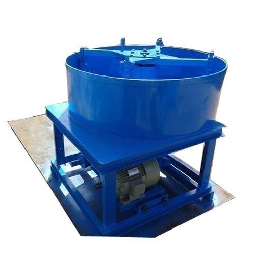 Blue Pan Mixer
