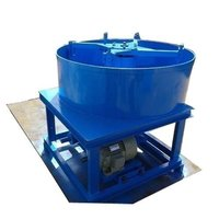 Blue Pan Mixer
