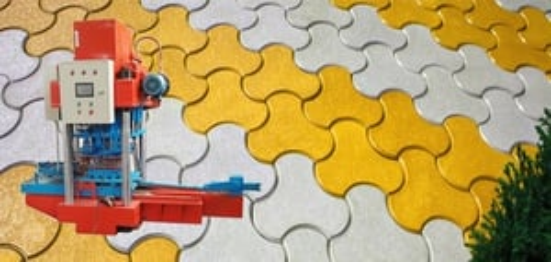 Hydraulic Interlocking Tiles Making Machine