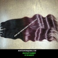 Factory Price Single Drawn Full Cuticle Ombre Hair