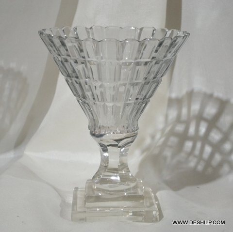 Crystal Small Hurricane Candle