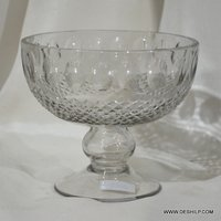 Glass Crystal Style Candle Holder