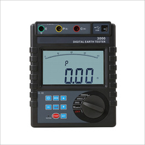 RTCR3000 Digital Ground Resistance Tester