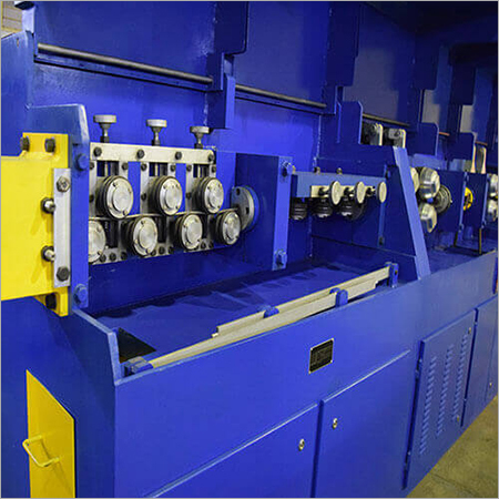 Roller Type Lever Wire Straightening And Cutting Off Machine MWM 8RO