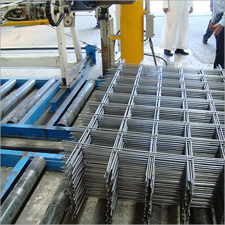 Welded Wire Mesh Plants for Reinforcement Mesh(BRC) - MWM - 250 BRC (4.0 mm - 8.0 mm)