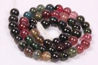 Natural Tourmaline Round Beads