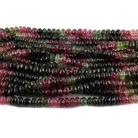 Multi Tourmaline Roundel Beads