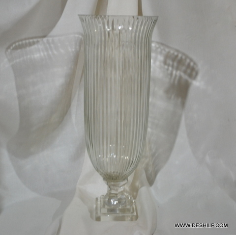 Long Glass Crystal Cutting Hurricane