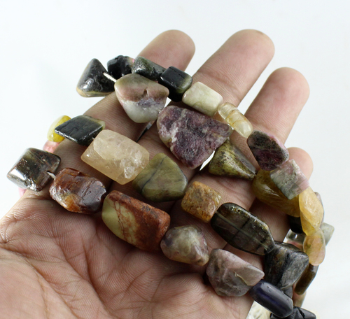 Tourmaline Nuggets Beads