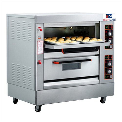 2 Deck 4 Trays Gas Oven