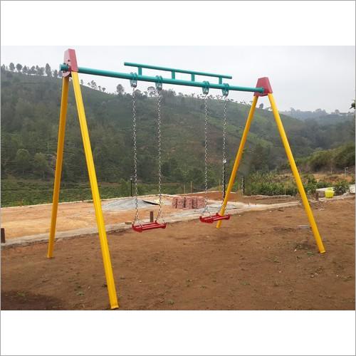 SS Chain Playground Swing