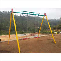 SS Chain Playground Swing