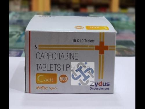 Cacit Capecitabine 500mg Tablet