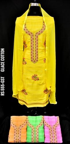 Glace Cotton Suits