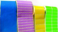 Multi Coloured Barcode Label