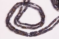 Iolite Square Beads