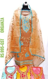 Organza Fabric Suit