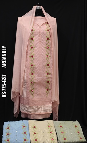 Organdy Fabric Suits