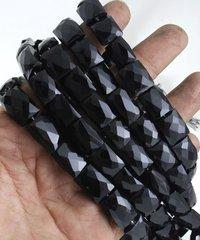 Black Onyx Square Beads