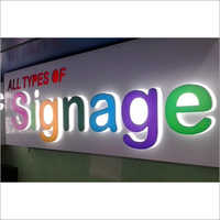 ACP Led Name Board
