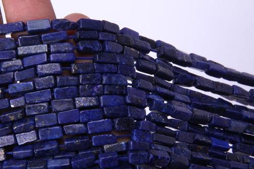 Lapis Lazuli Square Beads