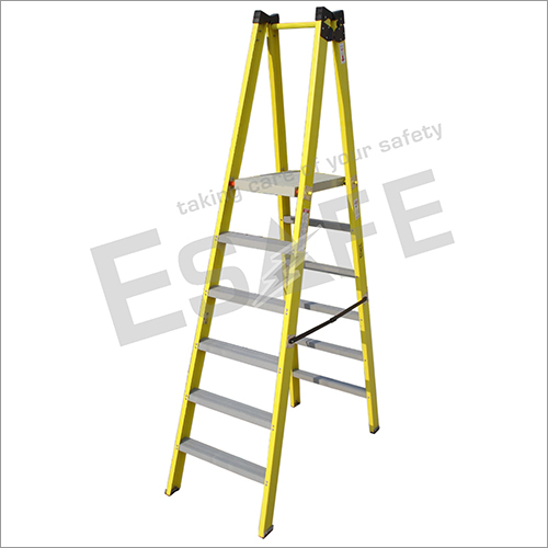 Fibre Glass Double Side Platform Step Ladder