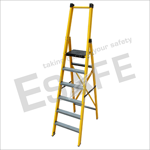 Fibre Glass Platform Step Ladder