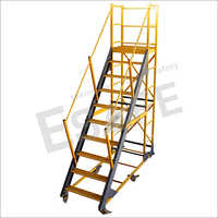 Fibre Glass Heavy Duty Platform Trolley Ladder