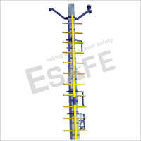 Fibre Glass Pole Mount Skeleton Ladder