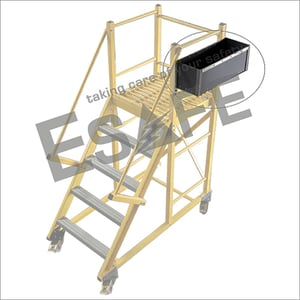 Tool Tray For Trolley And Tower Type Of Ladders