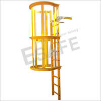 Fibre Glass Cage Ladder