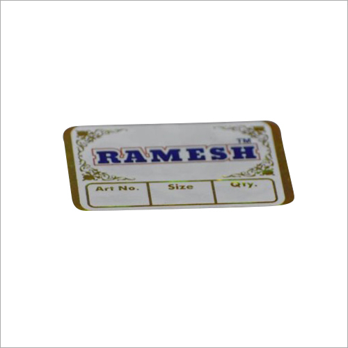 Hot Foil Stamping Lable
