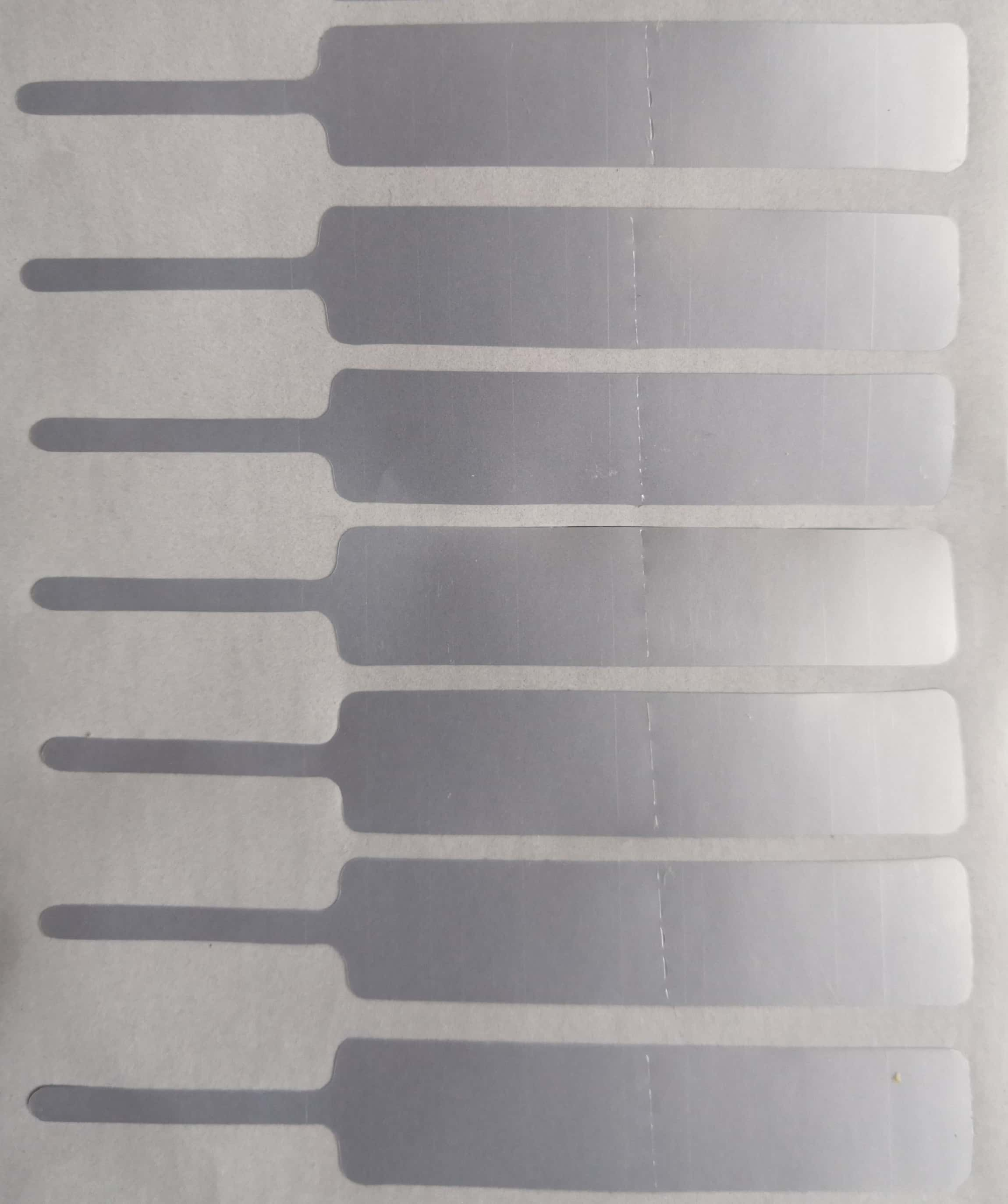 Die Cut Label